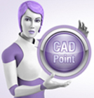 cara CAD Points